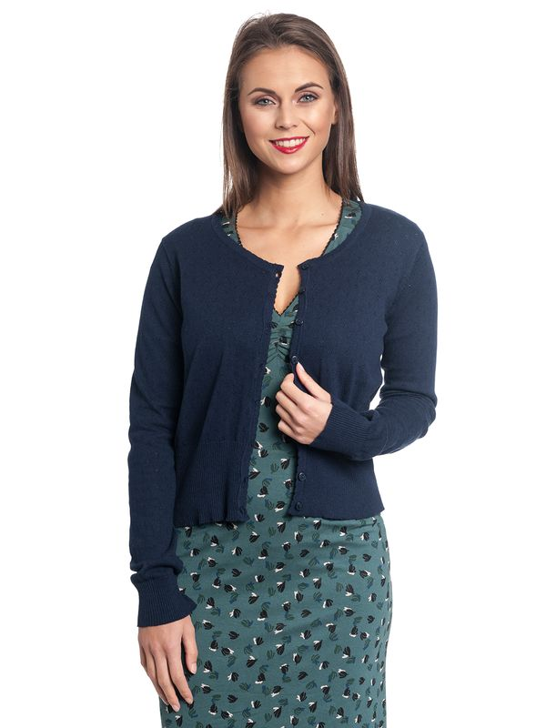 Vive Maria Sweetheart Short Knit-Cardigan navy – Bild 2