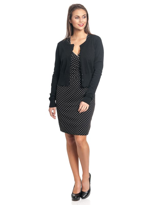 Vive Maria Sweetheart Short Knit-Cardigan black – Bild 3