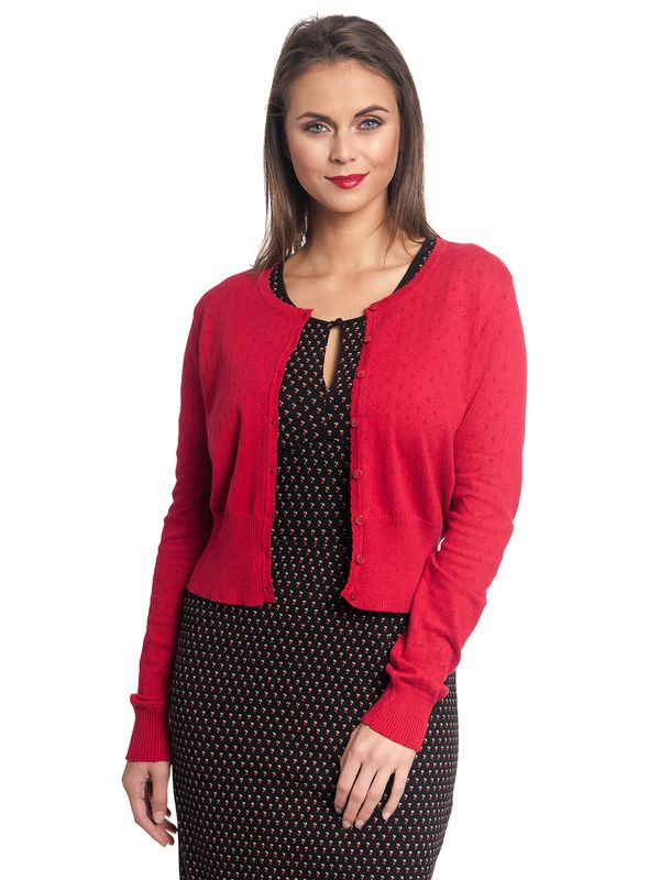 Vive Maria Sweetheart Short Knit-Cardigan red – Bild 1