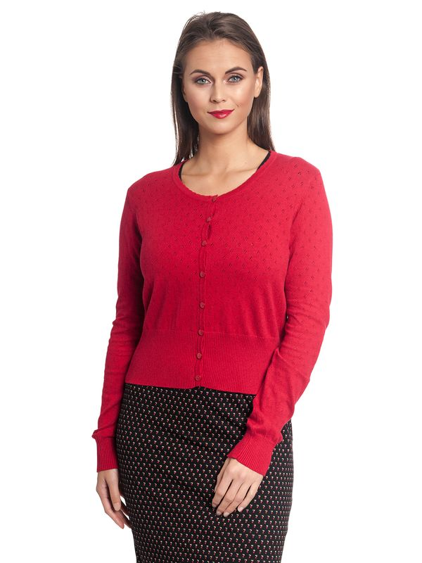 Vive Maria Sweetheart Short Knit-Cardigan red – Bild 5