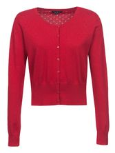 Vive Maria Sweetheart Short Knit-Cardigan red – Bild 0
