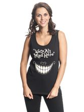 Alice Mad Mouth Top for Women Black – Bild 0