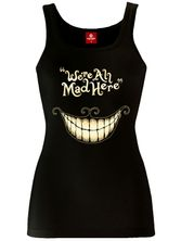 Alice Mad Mouth Top for Women Black – Bild 1