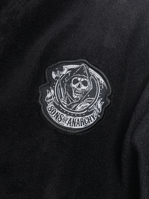 Sons of Anarchy Little Reaper Herren Bademantel Schwarz – Bild 3