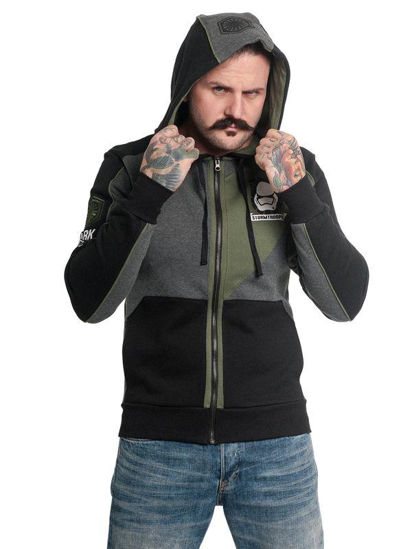 Star Wars Empire E8 Hooded Jacket for Men Black Gray Green – Bild 2