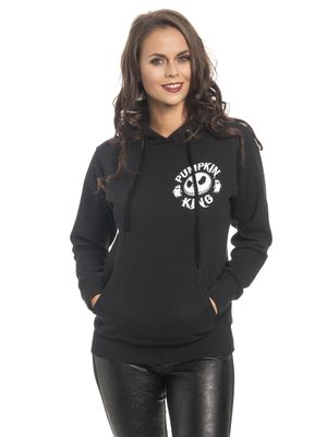 The Nightmare Before Christmas Pumkin King Damen Hoodie Schwarz – Bild 0