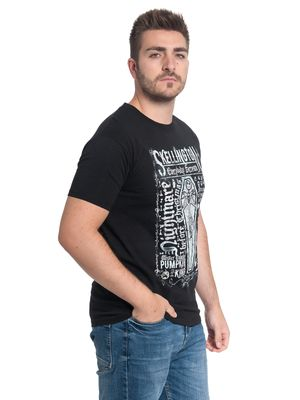 The Nightmare Before Christmas  Coffin 1993 Herren T-Shirt Schwarz – Bild 1