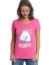 Minions It´s So Fluffy Bubbles Tee for Women Pink – Bild 1