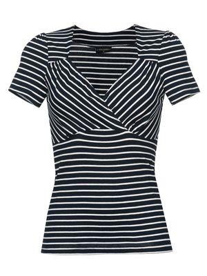 Vive Maria Biarritz Damen Shirt Blau/Creme – Bild 0