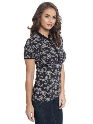 Vive Maria Little Flower China Girl Shirt allover – Bild 2