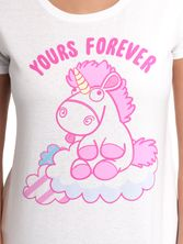 Minions Fluffy Yours Forever Tee for Women White – Bild 2