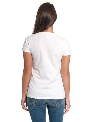 Minions Fluffy Yours Forever Damen T-Shirt Weiß – Bild 3