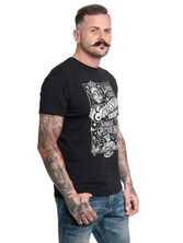 Coco Ernesto Tee for Men Black – Bild 1