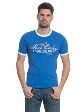 Star Wars Trading male tee blue – Bild 0