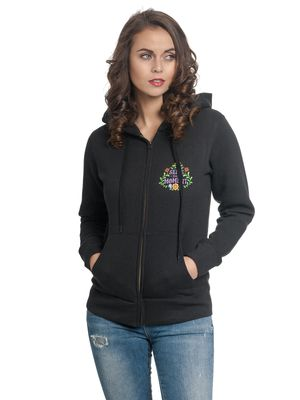 Disney Coco Your Moments Damen Kapuzenjacke Schwarz – Bild 0