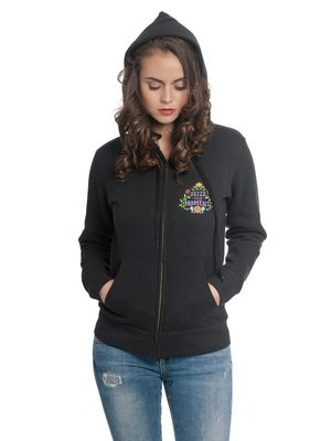 Disney Coco Your Moments Damen Kapuzenjacke Schwarz – Bild 1