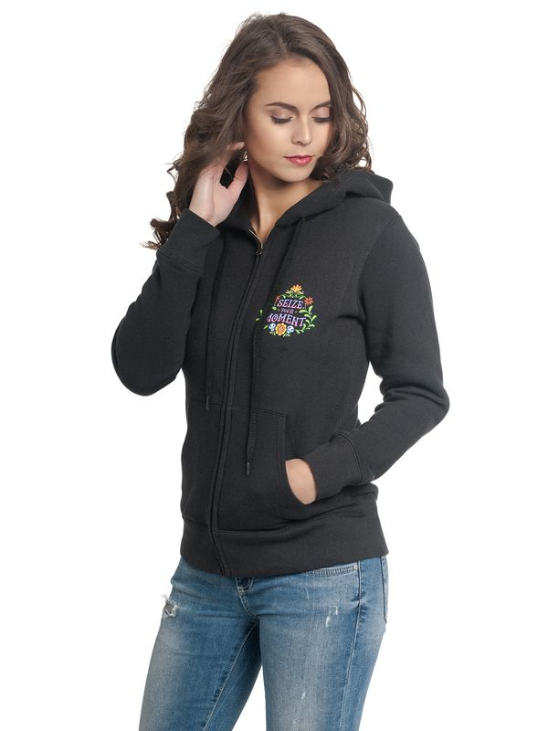 Disney Coco Your Moments Damen Kapuzenjacke Schwarz – Bild 3