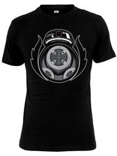 Star Wars Bad BB Herren T-Shirt Schwarz