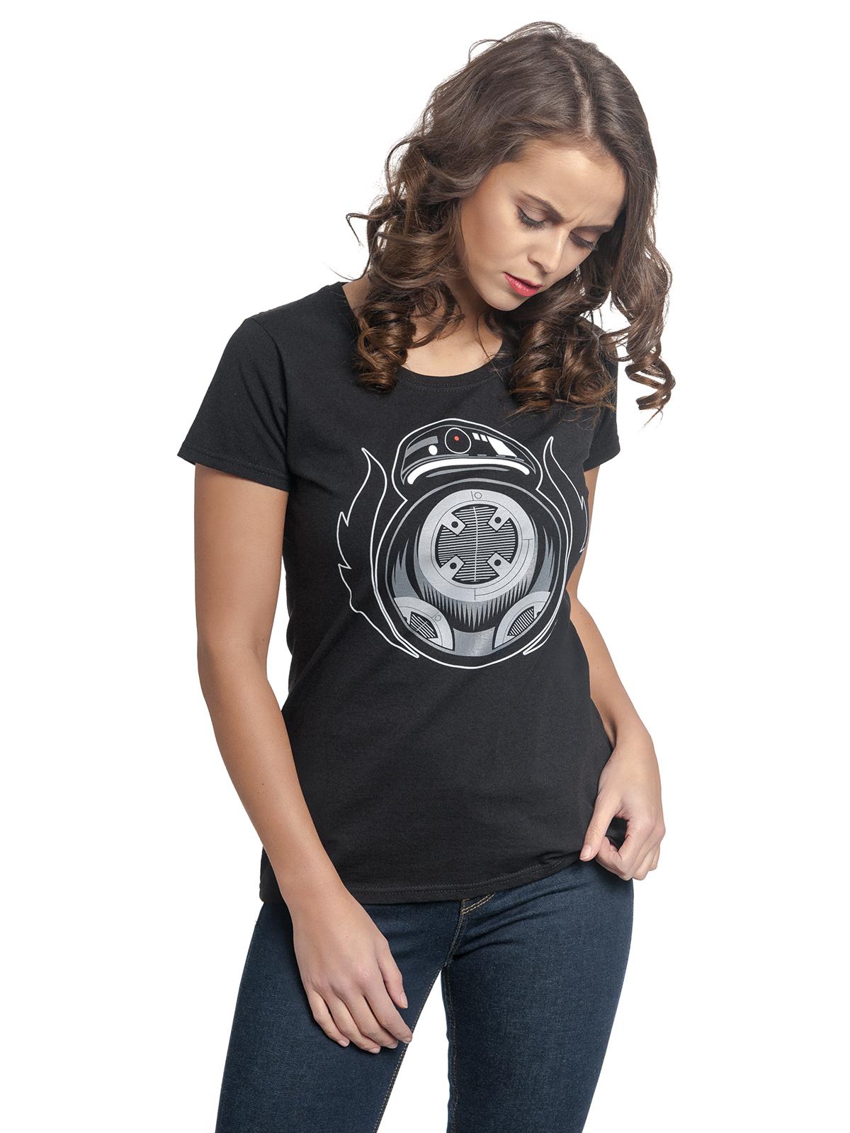 star wars badbb tee for women black women shirts tops. Black Bedroom Furniture Sets. Home Design Ideas