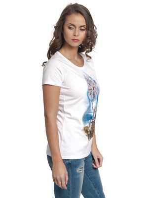 Star Wars The Stand 2 Damen T-Shirt Weiß – Bild 1