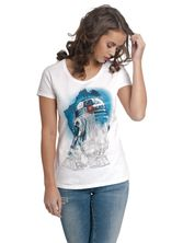 Star Wars R2 Tee for Women White – Bild 0