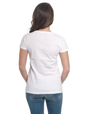 Bambi Klopfer Girl Shirt weiß – Bild 3