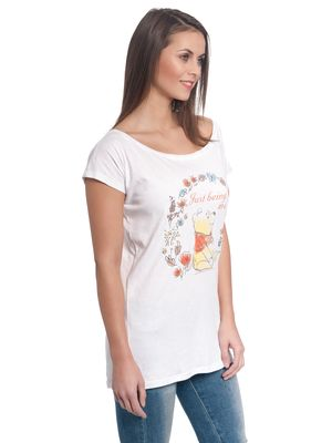 Winnie the Pooh Just Beeing Me Girl Loose Shirt weiss – Bild 2