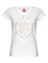 The Lion King Together Tee for Women White – Bild 0