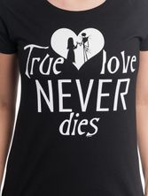 The Nightmare Before Christmas True Love tee for women black – Bild 3