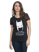 Batman Be Yourself Tee for Women Black – Bild 0