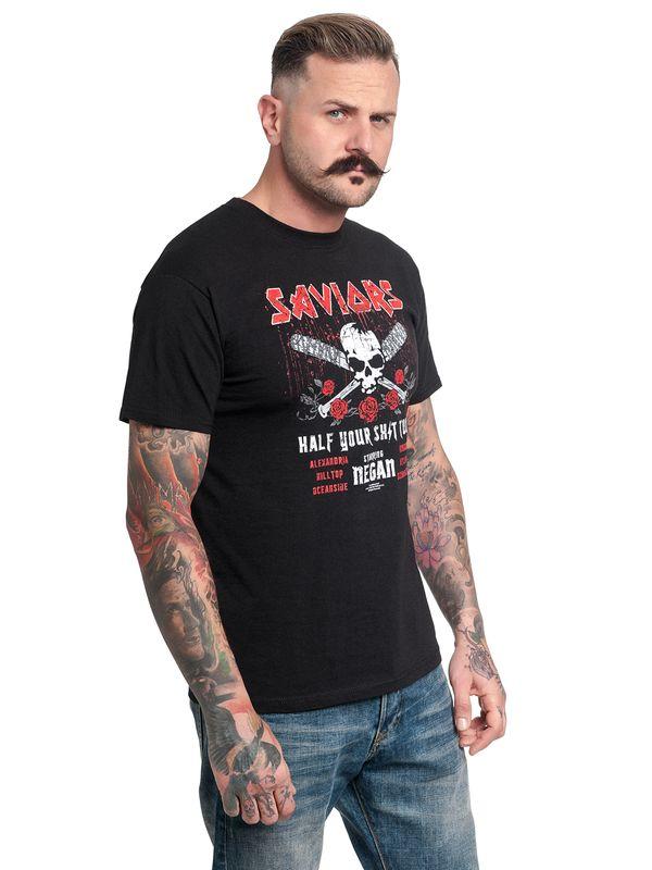 The Walking Dead Saviors Tour T-Shirt black – Bild 2