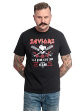 The Walking Dead Saviors Tour T-Shirt black – Bild 0