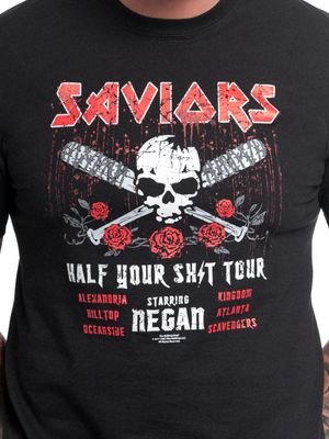 The Walking Dead Saviors Tour T-Shirt black – Bild 2