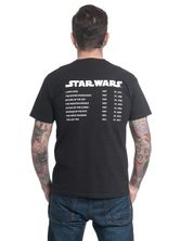 Star Wars Movies Male T-Shirt black – Bild 1
