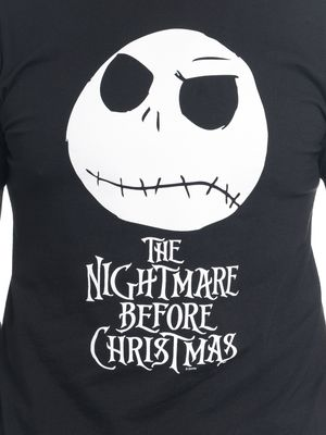The Nightmare Before Christmas Jack Head Herren T-Shirt Schwarz – Bild 2