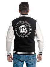 Star Wars Trooper Head College Jacket black/white – Bild 2
