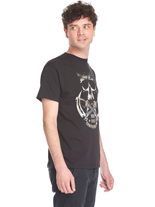 Sons of Anarchy SOA Skull & Sickle Male Tee Black – Bild 3