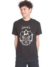 Sons of Anarchy SOA Skull & Sickle Male Tee Black – Bild 3