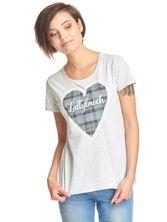 Outlander Lallybroch Love tee for women grey-melange – Bild 0