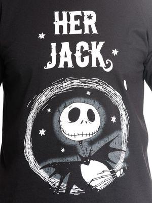 The Nightmare Before Christmas  Her Jack T- Shirt schwarz – Bild 2
