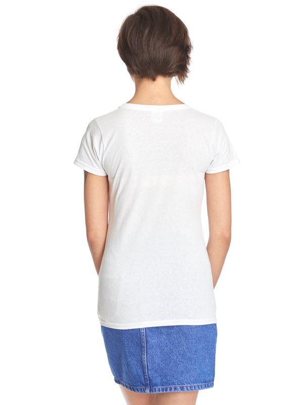 Lilo & Stitch Shadow Frauen T-Shirt weiss – Bild 4