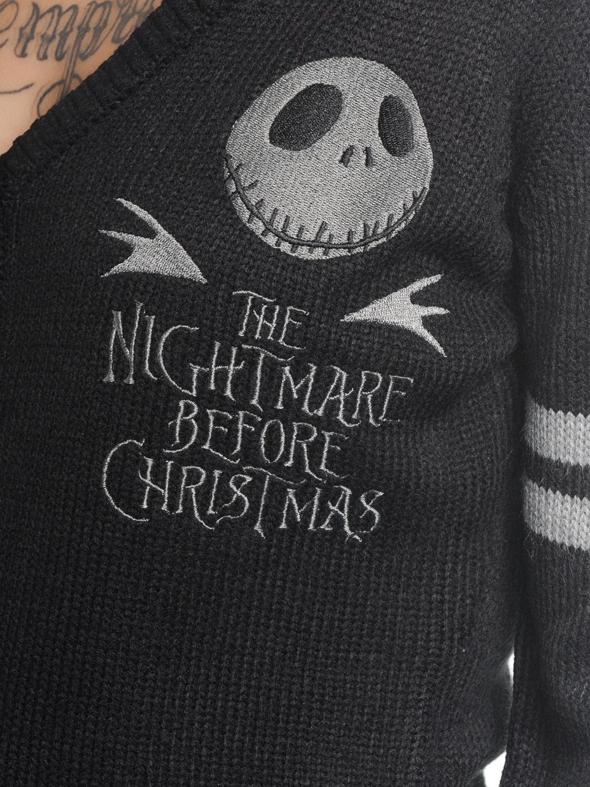 The Nightmare Before Christmas Classic Jack Cardigan Black Women ...