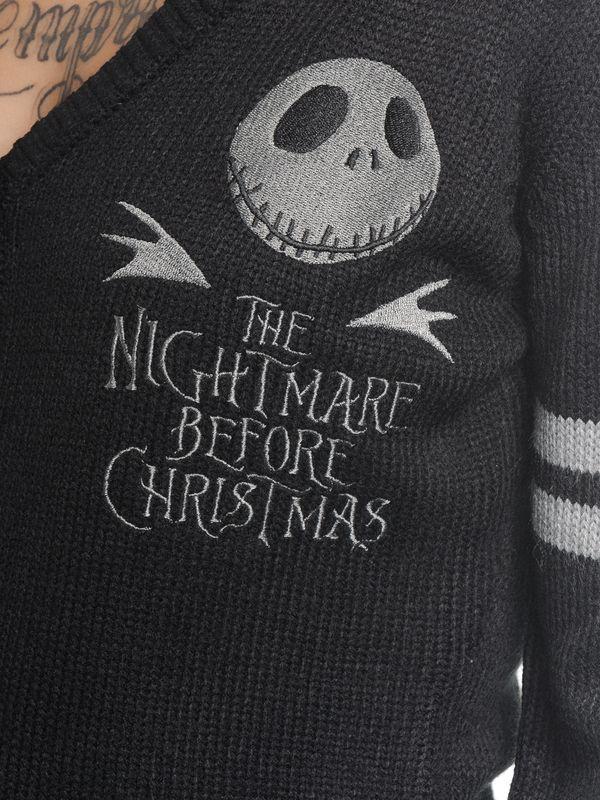 The Nightmare Before Christmas Classic Jack Cardigan Black – Bild 4