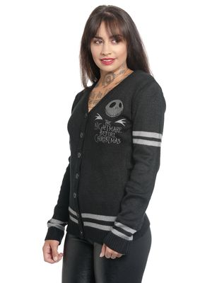 The Nightmare Before Christmas Classic Jack Cardigan schwarz – Bild 1