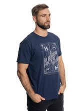 Star Wars In A Galaxy T-Shirt navy – Bild 2