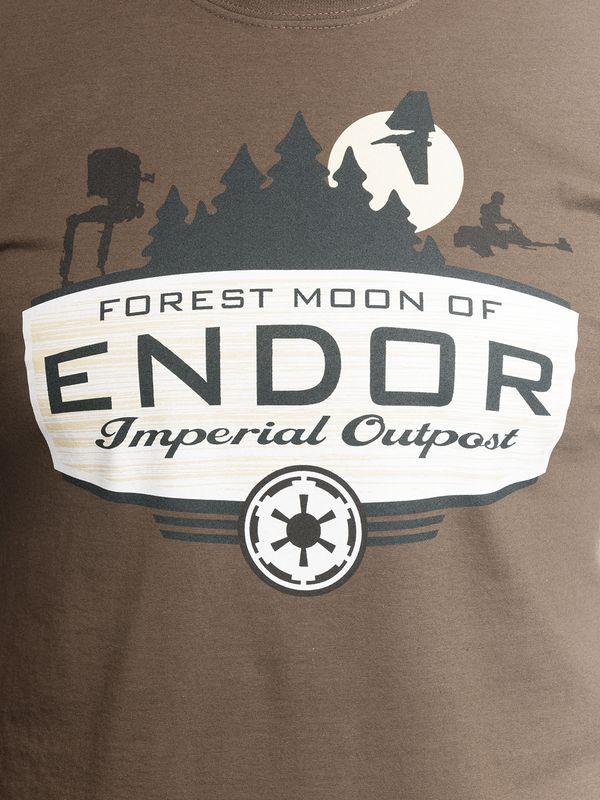 Star Wars Forest Moon Male Tee Brown – Bild 4