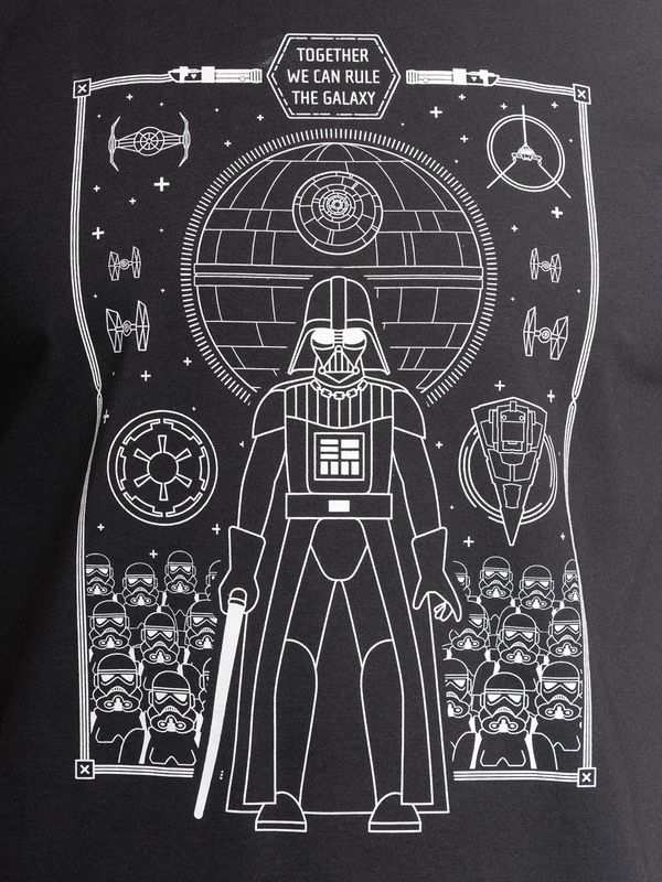 Star Wars Togehter wie can rule T-Shirt black – Bild 3