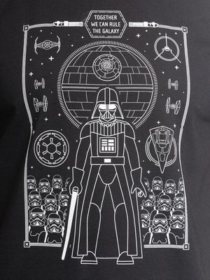 Star Wars Togehter wie can rule T-Shirt black – Bild 2