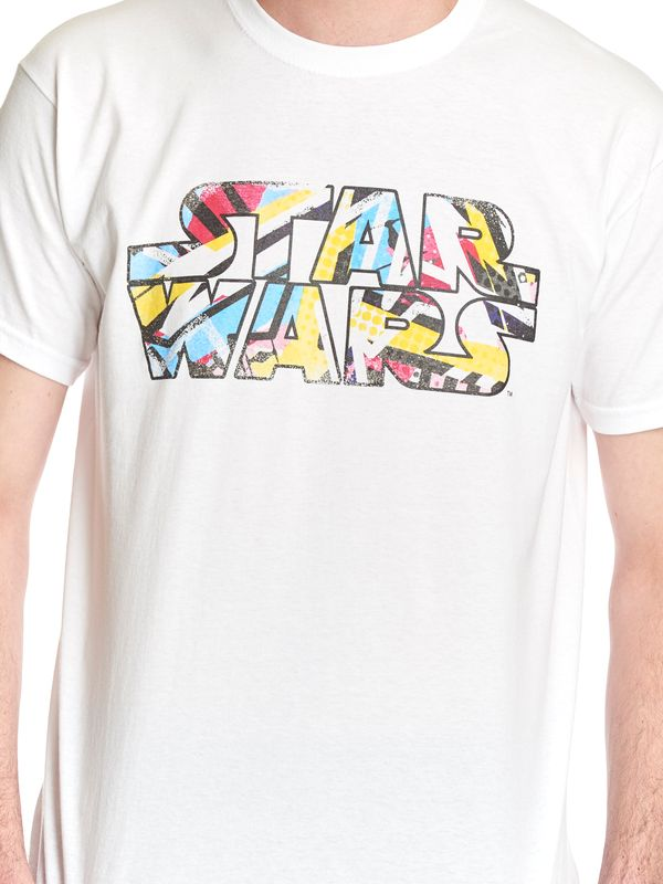 Star Wars Falcon 80s Dots T-Shirt white – Bild 5