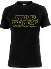 Star Wars Most Powerful Jedi Male Tee Black – Bild 0